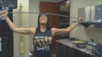 Real Life Wonder Woman Using Strength To Motivate