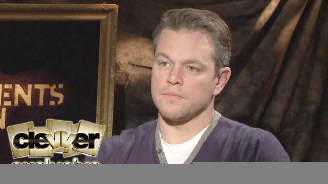 Matt Damon & The Monuments Men Talk New Movie