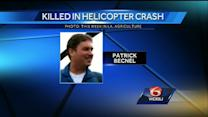 Report says fatal helicopter crash happened seconds after takeoff from platform