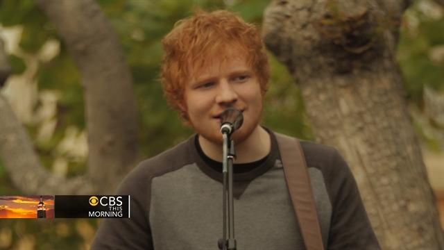 Preview: Grammy nominee Ed Sheeran sings hit song