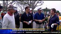 Celebrities and golf pros take on Toshiba Classic Charity Challenge