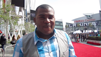 Curtis Finch Jr. at the Season 12 'American Idol' Finale