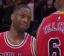 Dwyane Wade missed a triple double by 1 rebound because his 'teammate didn't want him to be great'
