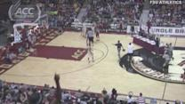 Jameis Winston Throws Alley-Oop Pass at Florida State Midnight Madness   ACC Must See Moment