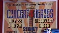 Concert to benefit injured HFD firefighters