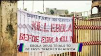 Ebola drugs to be fast-tracked in W. Africa; Ascena Retail shares tumble; Philips to split