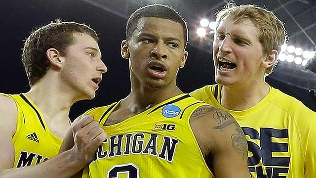 Trey Burke boosts Michigan to win