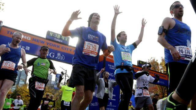 48,000 runners turn out for New York Marathon