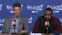 Press Pass: Parsons and Harden