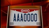 New Ohio license plates