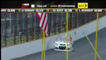 Final Laps: Newman wins the 20th Brickyard