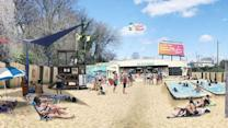 Plan for downtown Raleigh beach making waves