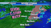 Severe Weather Headed for the Northeast