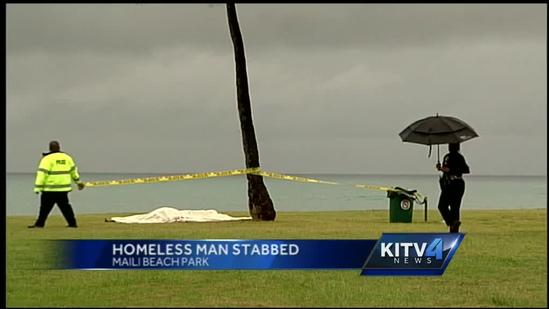 Homeless man in critical condition after being stabbed at Maili Beach Park