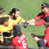 Benches clear between Nationals, Pirates after Bryce Harper leaves game