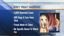 Jerky treats warning for pet owners
