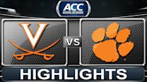 Virginia vs Clemson | 2014 ACC Basketball Highlights