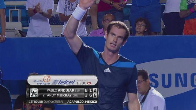 Murray and Ferrer progress in Mexico