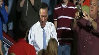 Romney calls for political cooperation