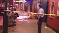 Man stabbed in the back on South Street