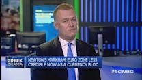 Has the euro zone lost credibility?