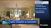 Luxury home market softens