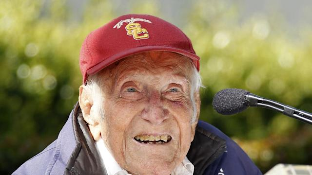 Louis Zamperini, 1936 Olympian, World War II POW, Dies At 97