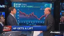 Cramer's Mad Dash: HP gets a lift