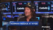 Norman Reedus at the NYSE