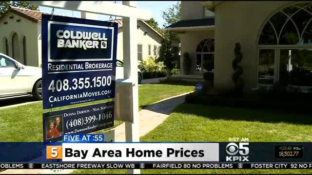 Bay Area Home Rose Over 16% From Last Year