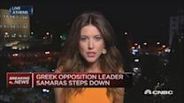 Greek opposition leader Samaras steps down