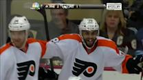 Bellemare scores his first NHL goal on Fleury