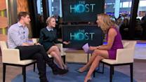 'The Host' Stars Daring On-Set Stunts