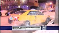 Cab Driver Stabbed By Passenger In Robbery Attempt