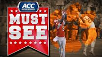 Clemson's Tajh Boyd Throws Beautiful 41-Yard Touchdown To Sammy Watkins | ACC Must See Moment