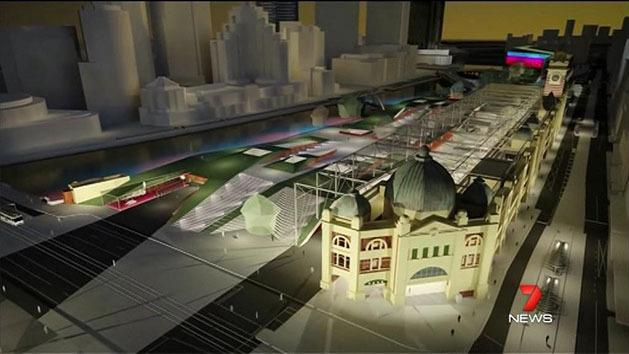 Grand designs for Flinders St Station