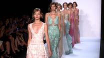 NYFW Spring 2014 / Badgley Mischka: Make a Splash Mermaid Style