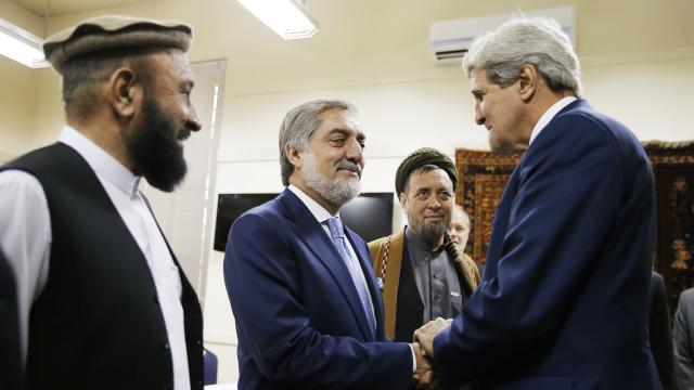 JOHN KERRY MEDIATING AFGHAN ELECTION CONFLICT