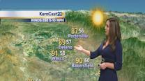 Another toasty day in Kern County