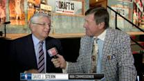 David Stern at the Draft