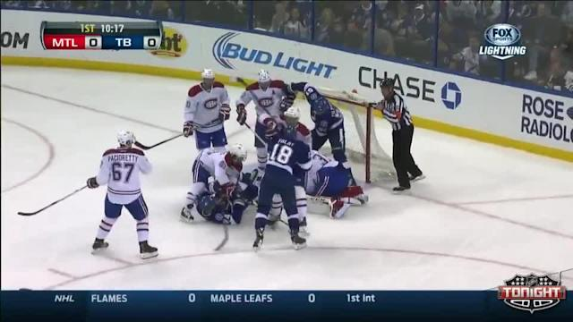 Montreal Canadiens at Tampa Bay Lightning - 04/01/2014