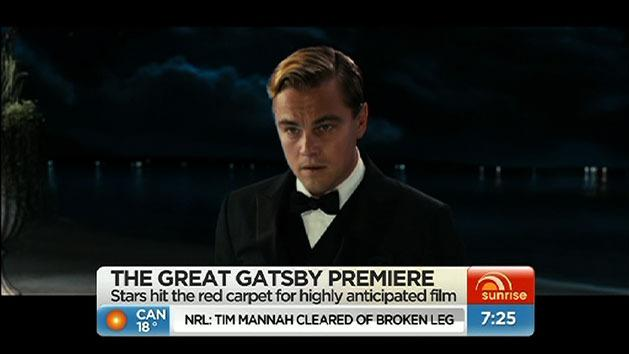 'The Great Gatsby' world premiere