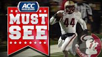 BC's Andre Williams Breaks 2,000 Yard Mark With 72-Yard TD Run | ACC Must See Moment