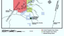 Tungsten Corp. Completes New Claim Staking and Mobilizes Fieldwork Team at Cherry Creek, Nevada Property