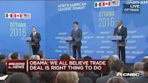 Obama: Free trade has to be fair trade