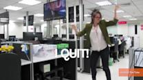 Woman Quits Job With Workplace Dance Video