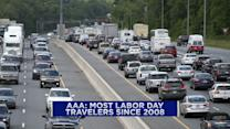Most Labor Day travelers since 2008 expected
