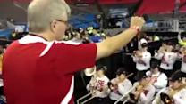 Raw video: UofL band practices in ATL