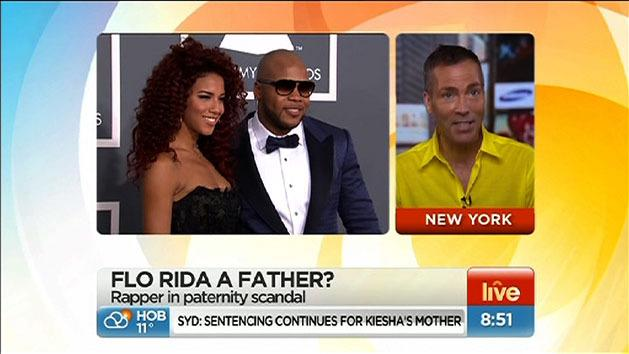 Is Flo Rida a father?