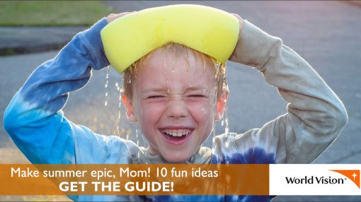 Make summer epic, Mom! 10 fun ideas.